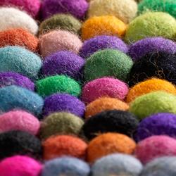 Canicas | multicolor | Tapis / Tapis design | Naturtex