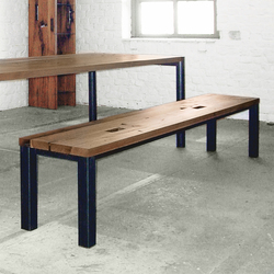 Basil B bench | Tables and benches | Redwitz