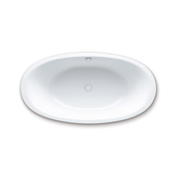 Ellipso Duo Oval alpine white | Bañeras | Kaldewei