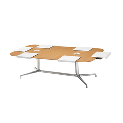 SW_1 Low Conference Table Rectangular | Tavoli conferenza | Coalesse