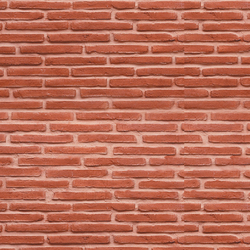 MSD Ladrillo vertical rojo vert 101 | Panneaux | StoneslikeStones