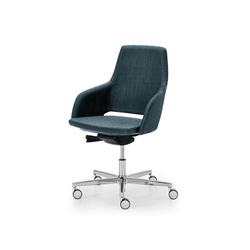 Captain Manageriale | Visitors chairs / Side chairs | Sinetica Industries