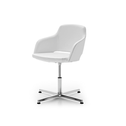 Captain Visitatore | Visitors chairs / Side chairs | Sinetica Industries