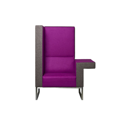 Bricks Workchair | Lounge-work seating | Palau