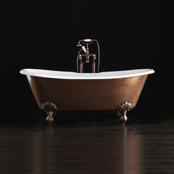 Admiral Copper Effect Bathtub | Free-standing baths | Devon&Devon