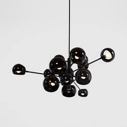 Kopra Burst No 433 | Suspended lights | David Weeks Studio