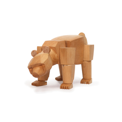 Ursa the Wooden Bear | Giocattoli per bambini | David Weeks Studio