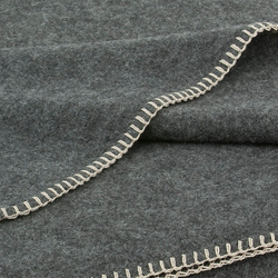 Alina Blanket graphite | Plaids / Blankets | Steiner