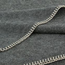 Alina Blanket graphite | Coperte | Steiner1888