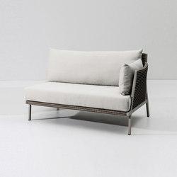 Vieques right corner module | Garden sofas | KETTAL