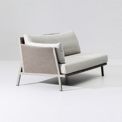 Vieques left corner module | Garden sofas | KETTAL