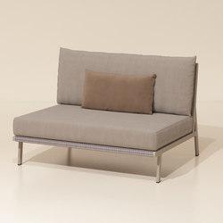 Vieques central module | Garden sofas | KETTAL