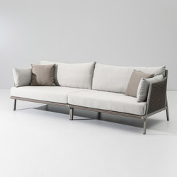 Vieques 3 seater sofa | Garden sofas | KETTAL