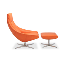 Ovni Lounge chair I Pouf | Poltrone | Jori
