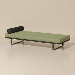 Bitta deckchair/ stool module | Bancs de jardin | KETTAL