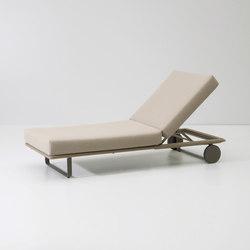 Bitta deckchair module | Sun loungers | KETTAL