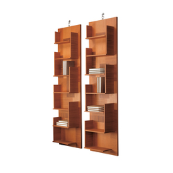 Harlem 4306 Bookcase | Shelves | F.LLi BOFFI