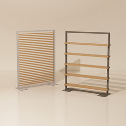 Objects room divider | Screening panels | KETTAL