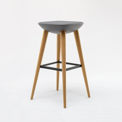 Pebble Barstool XL | Taburetes de bar | De Vorm