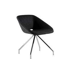 Kirmizi | Visitors chairs / Side chairs | B&T Design