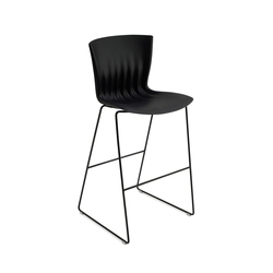 Ripple Chair bar height | Taburetes de bar | Paustian