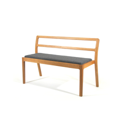 Long Eaton Stacking Bench | Bancs d'attente | Assemblyroom