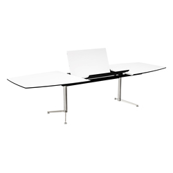 Spinal Table boatshape with extention | Mesas comedor | Paustian