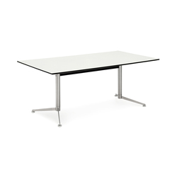 Spinal Table rectangular | Kantinentische | Paustian