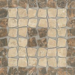 Marmol emperador- deco 2 | Außenfliesen | Oset