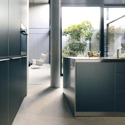 bulthaup b3 aluminium grey | Cuisines intégrées | bulthaup