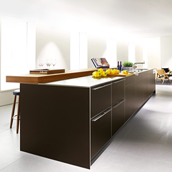 bulthaup b3 aluminium bronze | Kitchen furniture | bulthaup