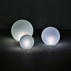 Crystal Moon | Floor lights | Serralunga