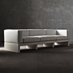 Divano Hour Collection | Garden sofas | Serralunga