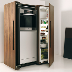 bulthaup b2 appliance housing cabinet | Refrigerators | bulthaup
