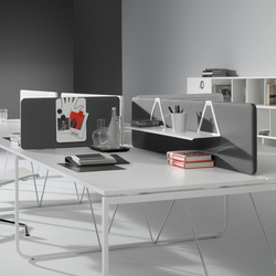 K2 I K3 Workstation with screens | Table dividers | ARIDI
