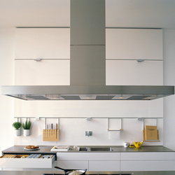Extractor with stainless steel flat panel | Cappe aspiranti | bulthaup