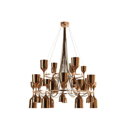 Copacabana Queen me Suspension lamp | General lighting | Metalarte