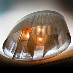 Custom Elliptical Installation | Objets lumineux | Willowlamp