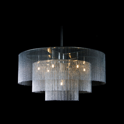 3-Tier - 900 - suspended - custom | Objetos luminosos | Willowlamp