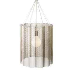 Scalloped Cropped 400 Pendant Lamp | General lighting | Willowlamp