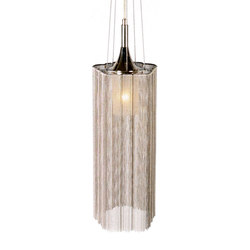 Scalloped Cropped 150 Pendant Lamp | Suspended lights | Willowlamp