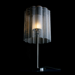 Scalloped Cropped 400 Table Lamp | General lighting | Willowlamp
