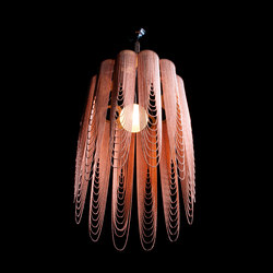Scalloped Looped 400 Pendant Lamp | Éclairage général | Willowlamp