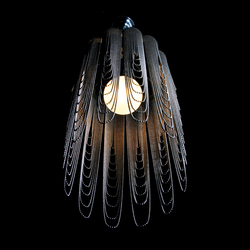 Scalloped Looped 280 Pendant Lamp | Suspended lights | Willowlamp