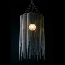 Scalloped Willow 400 Pendant Lamp | Suspended lights | Willowlamp