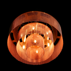 3-Tier - 500 - ceiling mounted | Iluminación general | Willowlamp