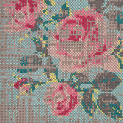Canevas Rug Flowers Colour 1–3 | Tapis / Tapis design | GAN