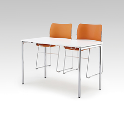 Usu table with chair hanger | Tables polyvalentes | HOWE
