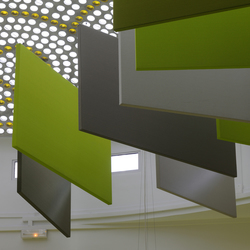 Stereo screens | Suspended panels | Texaa®