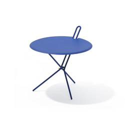 Hook folding table | Side tables | Richard Lampert